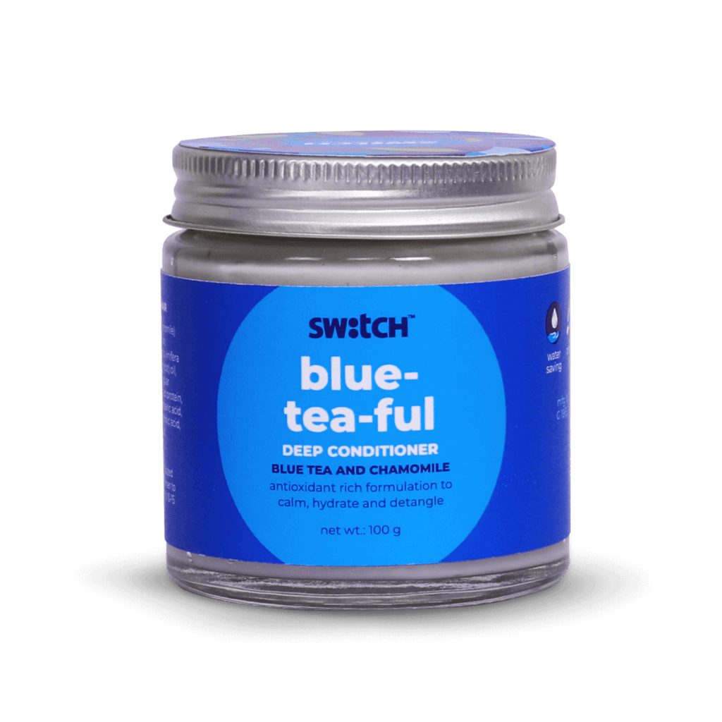 Blue-Tea-Ful Deep Conditioner Hero Image