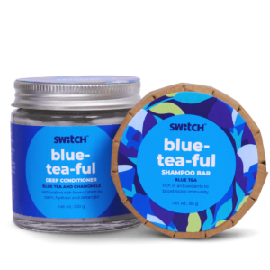 Blue-Tea-Ful Haircare Combo