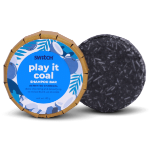 Play It Coal Shampoo Bar