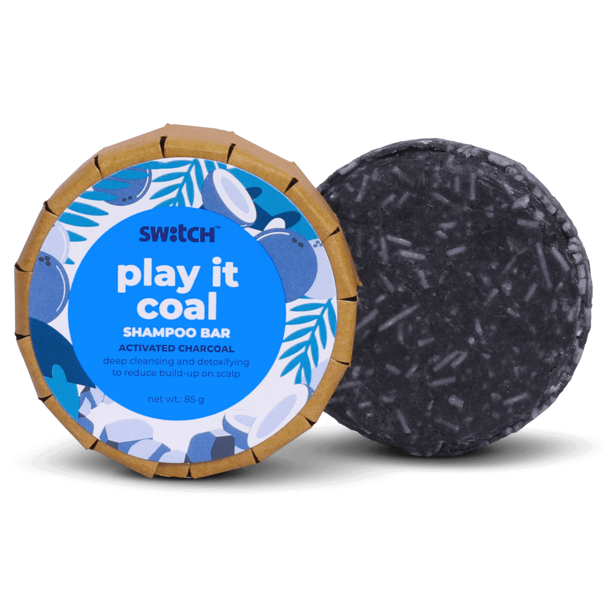 Play It Coal Shampoo Bar Hero Image