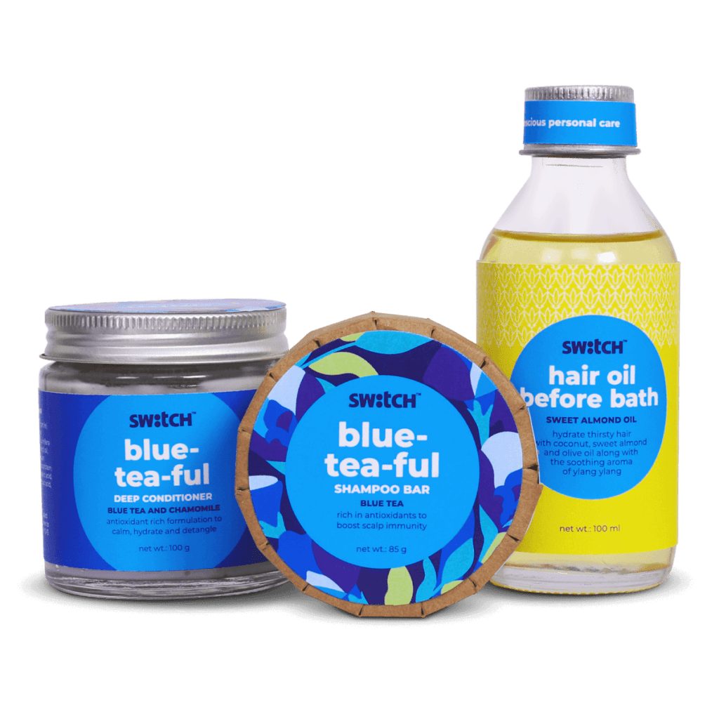 Blue-Tea-Ful Haircare Bundle