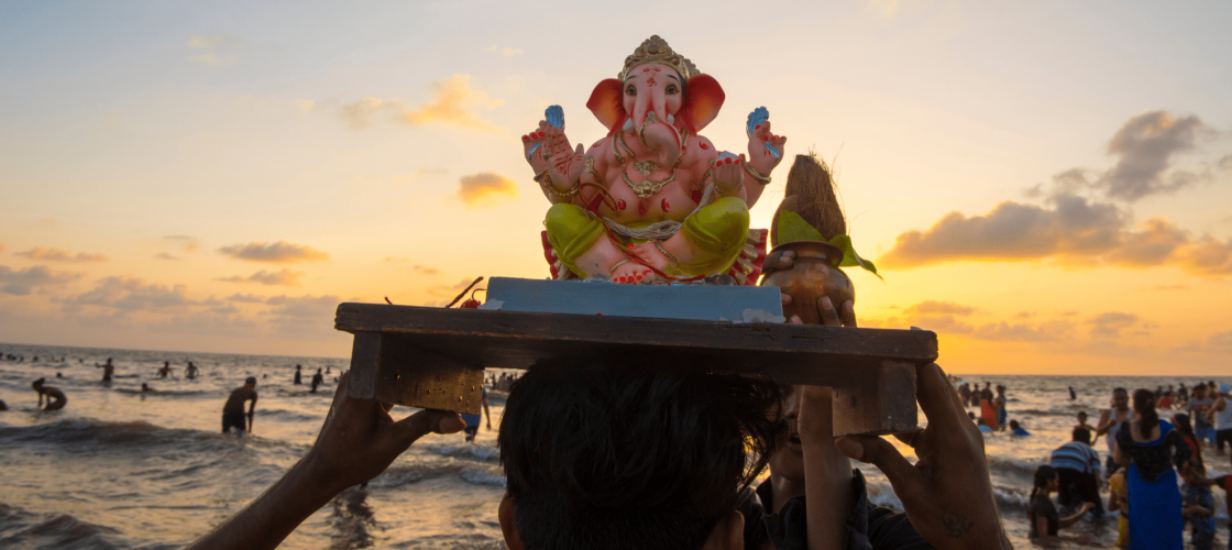 Eco-friendly Ganesh Chaturthi Header Image by The Switch Fix